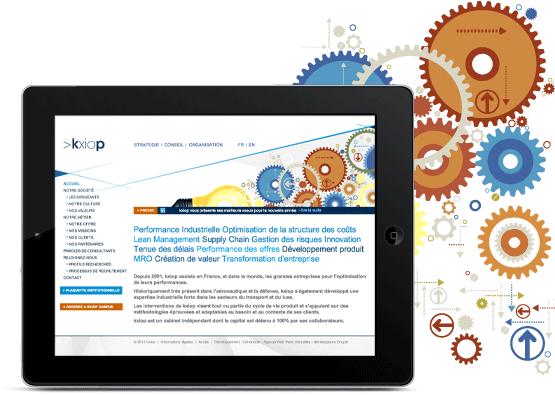 Création de sites Internet - design graphique