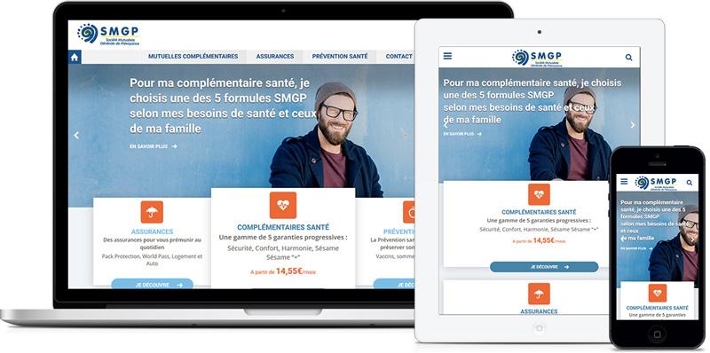 SMGP - Site E-commerce - par Agence web Paris - Coheractio